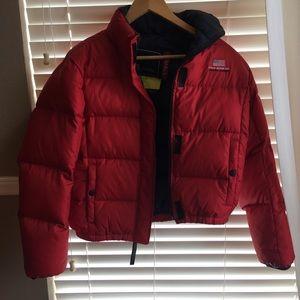 Red Puffer Jacket - Ralph Lauren